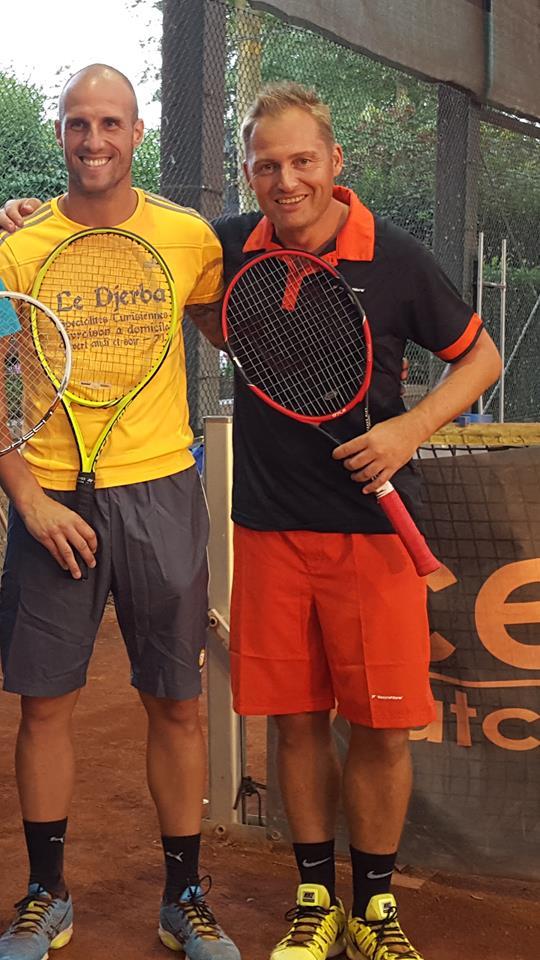 Jimmy Hempte et Sébastien Castelain