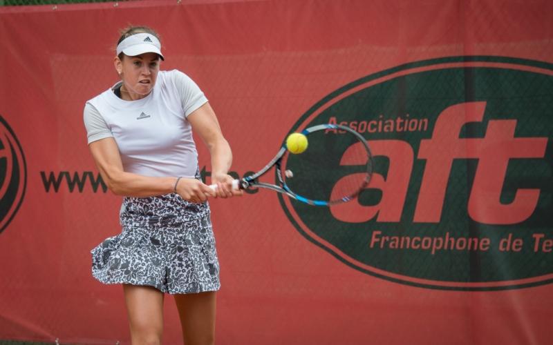 Hélène Scholsen bat Arcangioli et affrontera Kimberley Zimmermann en finale à Baulet